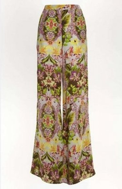 ASTR Wide Leg Pants Floral