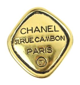Chanel Rue Cambon Clip On Earring