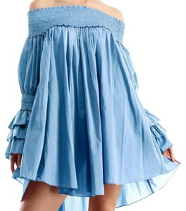 Gracia short dress Blue on Tradesy