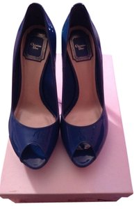 Christian Dior Blue Pumps