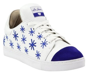Isa Tapia Sneaker Tennis Suede Leather White Athletic