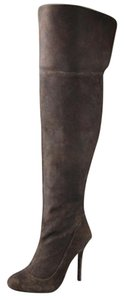 Elizabeth and James Over The Knee Boot Tall Bot Brown Boots