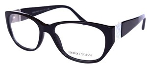 Giorgio Armani Black Women's Frame GA Optical Frame