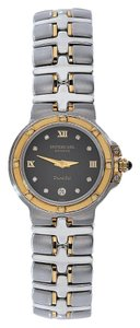 Raymond Weil Raymond Weil 9990/DD Parsifal Two Tone Black Diamond Dial Watch