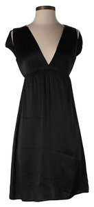 Amanda Uprichard Silk Open Shoulder Dress