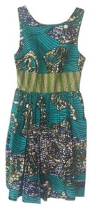 Anthropologie short dress Mille Collines Print Cotton on Tradesy