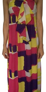 Pink yelle purple Maxi Dress by Pepe Jeans