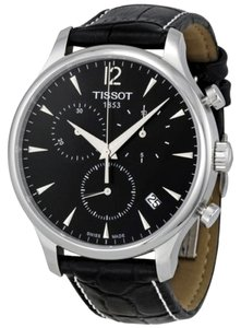 Tissot Tissot T Classic Tradition Chronograph Black Dial Mens Watch T063.617.16.057.00