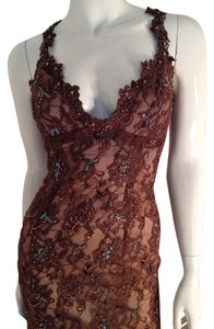 Mandalay Soiree Size 8 Beads Lace Fully Lined Hidden Darted Shelf Dress