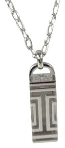 Tory Burch Tory Burch 22145975 Women's Silver FitBit Holder Necklace