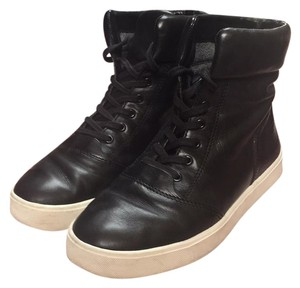 Vince Black leather Athletic