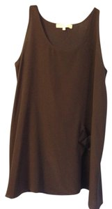Hatch Collection Maternity Maternity Top Dark Brown