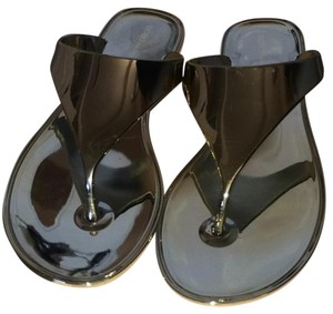 BCBGeneration Shiny gold Sandals