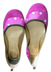 J.Crew Italy 8 1/2 Pink Flats