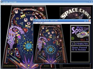 Classic 3D Pinball Space Cadet Game for Windows XP, Vista, 7, 8, 8.1 E-Everyone Classic 3D Pinball Space Cadet Game: Windows XP, Vista, 7, 8, 8.1