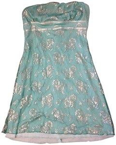 Charlotte Russe short dress teal blue on Tradesy