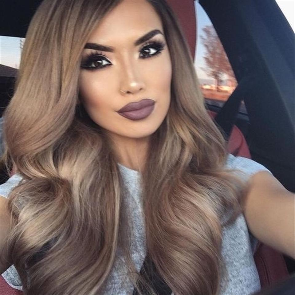 Ash Brown Lilly Ghalichi Glam 260g 20 Clip In Extensions 8 Hair