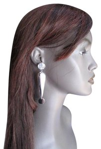 Other New Women ! ? Earrings Fashion Silver Metal Big Standout Rhinestones