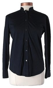 Prada Longsleeve Button Down Shirt Navy