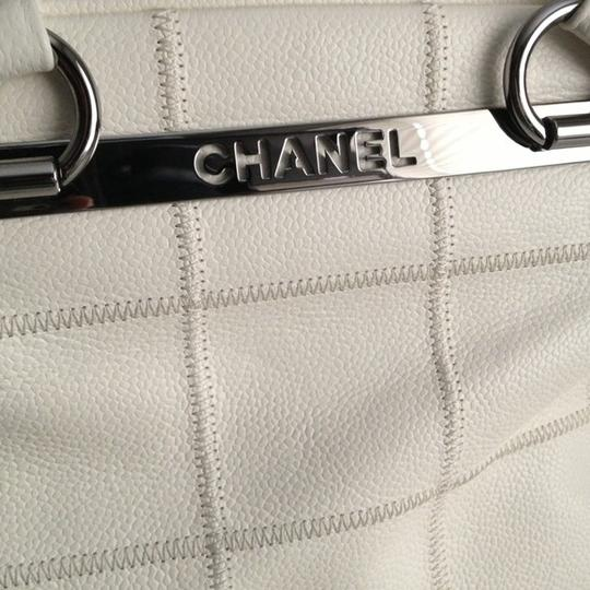 Chanel Satchel in Ivory