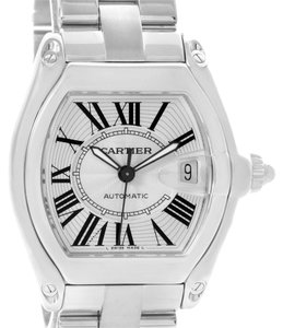Cartier Cartier Roadster Mens Automatic Watch W62025V3 Box Papers Strap