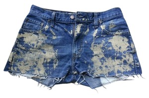 Levi's Summer Vintage Mini/Short Shorts Blue