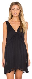 Free People short dress BLACK Rio Grande on Tradesy