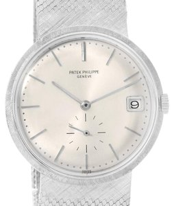 Patek Philippe Patek Philippe Calatrava Vintage 18k White Gold Watch 3445