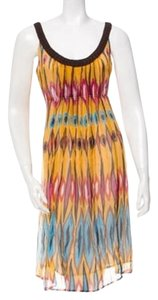 Tory Burch short dress Multicolor Silk on Tradesy