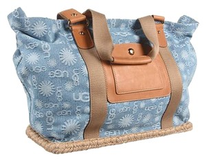 UGG Boots Light Blue Denim Travel Bag