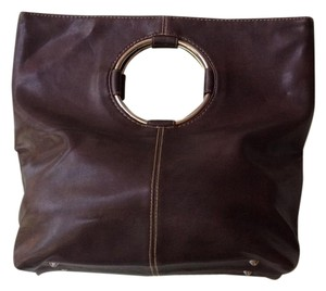Vintage Retro 1970 Satchel in Chocolate Brown