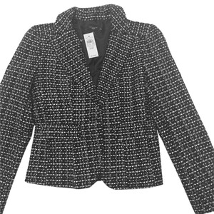 Ann Taylor Black and White Blazer