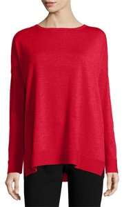 Eileen Fisher Bateau Boxy Merino Sweater