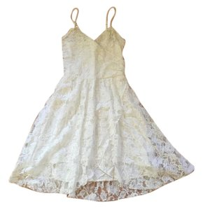 Abercrombie & Fitch short dress White Lace Summer Light on Tradesy