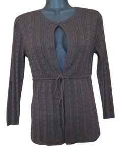 BCBGMAXAZRIA Silk Sweater Lightweight Fall Autumn Cardigan