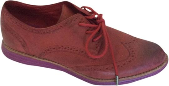 Cole Haan red and pink Flats
