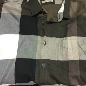 Burberry Button Down Shirt army green