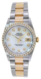 Rolex Rolex 16263 Turn-O-Graph Two Tone With Customized Dial and Bezel Watch