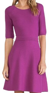Trina Turk short dress Dark Orchid Fit-and-flare Cadence on Tradesy