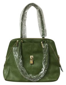Monroe & Main Satchel in Green