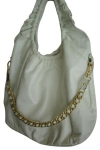 Be&D Shoulder Tote in Off White
