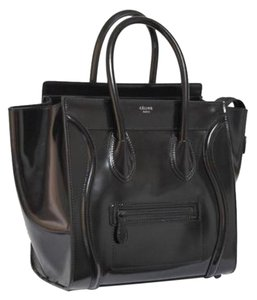 Céline Celine Small Mini Tote in Black