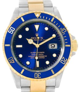 Rolex Rolex Submariner Steel 18K Yellow Gold Mens Watch 16613 Year 2006