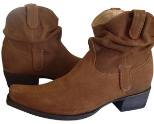 Old Gringo Ankle Rust Suede Boots
