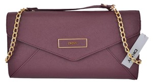 DKNY Donna Karan Purple Clutch