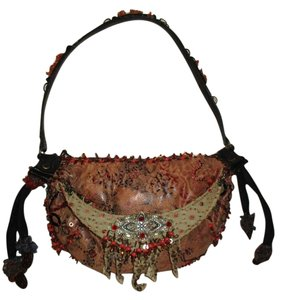 Mary Frances Beaded Shoulder Bag