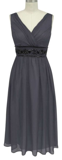 Preload https://img-static.tradesy.com/item/183595/gray-beaded-waist-sizelarge-mid-length-formal-dress-size-14-l-0-0-650-650.jpg