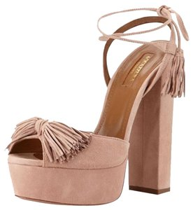 Aquazzura Wild Thing Sandal Pink Sandals