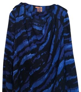 Tory Burch Top Blue/Black