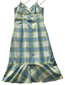 Tommy Hilfiger short dress Blue/Green/White on Tradesy